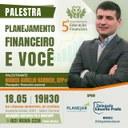 Palestra sobre planejamento financeiro ocorrerá nesta sexta-feira
