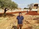 Anderson Sales acompanha obras no Residencial Vale do Araguaia