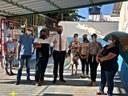 Anderson Sales e Secretário de Educação visitam CMEIs na região leste da capital