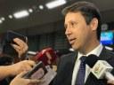 Andrey Azeredo fala à imprensa sobre a eleição da Nova Mesa Diretora