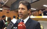 Andrey Azeredo fala à imprensa sobre o período pós – eleitoral na Câmara, atuação dos suplentes e revisão do Código Tributário Municipal