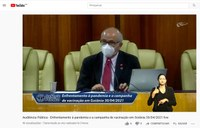 Audiência discute enfrentamento da pandemia e falta de vacinas contra a covid-19 em Goiânia