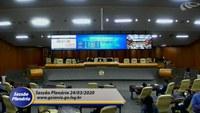 Câmara de Goiânia prorroga suspensão de atividades até 1.º de abril