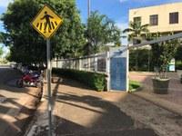 Câmara de Goiânia realiza obras de implantação de calçadas acessíveis
