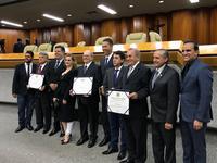 Câmara Municipal celebra os 80 anos do jornal o Popular