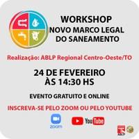 Câmara Municipal de Goiânia participa de workshop sobre novo Marco Regulatório do Saneamento nesta quarta