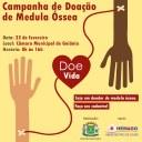 Câmara Municipal promove campanha para doação de medula óssea