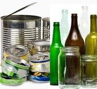 Campanha instrui servidor como coletar vidros e metais para reciclagem