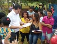 Comissão de Direitos Humanos visita famílias em situação de risco