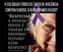 Comissão dos Direitos dos Idosos promove o V Colóquio sobre à violência contra a pessoa idosa