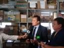 Denúncia recebida pela CEI da Semas indica que Prefeitura comprou sal tingido como se fosse sabão