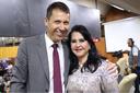 Desembargadora Sandra Regina e senador Ronaldo Caiado usaram Tribuna livre da Câmara nesta quinta-feira