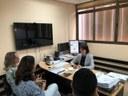 Dra. Cristina entrega ao Ministério Público relatório sobre visitas a CAPS de Goiânia