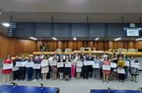 Em Sessão Solene realizada na Câmara, Faculdade de Odontologia da UFG comemora 74 anos