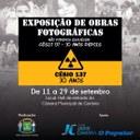 Exposição fotográfica sobre a tragédia do Césio 137 fica aberta até sexta-feira