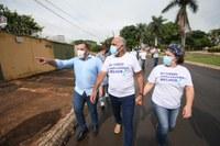 Geverson Abel e Rogério Cruz visitam região Norte de Goiânia