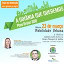 Inscrições para o minicurso gratuito sobre Mobilidade Urbana terminam nesta quinta-feira