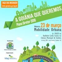 Mobilidade Urbana no Plano Diretor é tema de minicurso em Goiânia