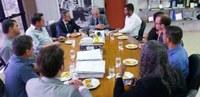 Policarpo intermedia reunião entre Iris, Sindigoiânia e Asmob para apresentação da proposta do novo plano de carreira dos servidores municipais