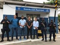 Policarpo visita base da Guarda Civil Municipal de Salvador