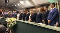 Presidente da Câmara acompanha a transmissão do cargo de governador