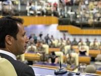 Presidente da Câmara de Goiânia fala à imprensa sobre as atividades do Legislativo e as eleições