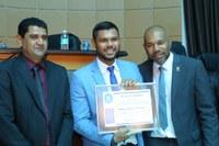 Presidente da Câmara é homenageado pelo Poder Legislativo de Primavera do Leste (MT)