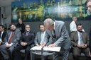 Presidente da Câmara e vereadores prestigiam posse de novos secretários da Prefeitura