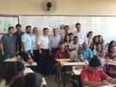Presidente da Câmara e vereadores visitam Região Sudoeste da Capital