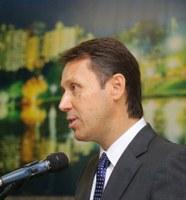 Presidente da Câmara fala à imprensa sobre concurso público, Plano Diretor, BRT e outros temas