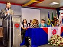 Presidente da Câmara participa da abertura da 10ª Semana da Justiça pela Paz em Casa
