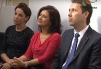 Presidente da Câmara participa da inauguração da primeira Central de Libras de Goiânia
