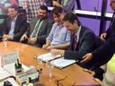 Presidente da Câmara participa de ato inicial para restauração da antiga Estação Ferroviária de Goiânia
