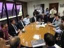 Presidente da Câmara participa de reunião com o ministro das Cidades no Paço Municipal