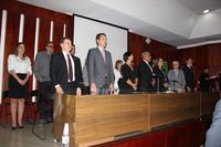 Presidente da Câmara prestigia posse coletiva de diretores–gerais do Instituto Federal de Goiás