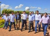 Presidente da Câmara visita a Tecnoshow Comigo em Rio Verde