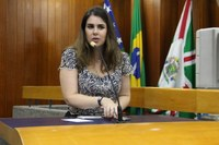 Priscilla Tejota apresenta emenda a projeto de renegociação de dívida do paço com credores