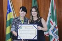 Priscilla Tejota defende participação feminina e igualdade de vagas em concurso público militar