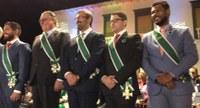 Vereador Romário Policarpo recebe Ordem do Mérito Anhanguera