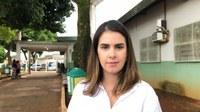 Vereadora relata situação calamitosa no Cais do Jardim Guanabara
