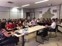 Vereadores participam de reunião sobre plano diretor