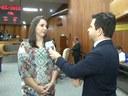 VÍDEO - Vereadora Leia Klebia propõe titulo de cidadão honorário a seu Toniquinho