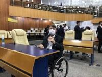 Willian Veloso comemora novo plano de vacinação, que contempla pessoas com deficiência
