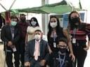 Willian Veloso e Comissão dos Direitos da PcD participam de Feira Cultural