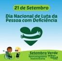 Willian Veloso promove solenidade no Dia Nacional de Luta da Pessoa com Deficiência