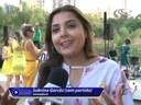 Sabrina participa de evento de alerta contra suicídio